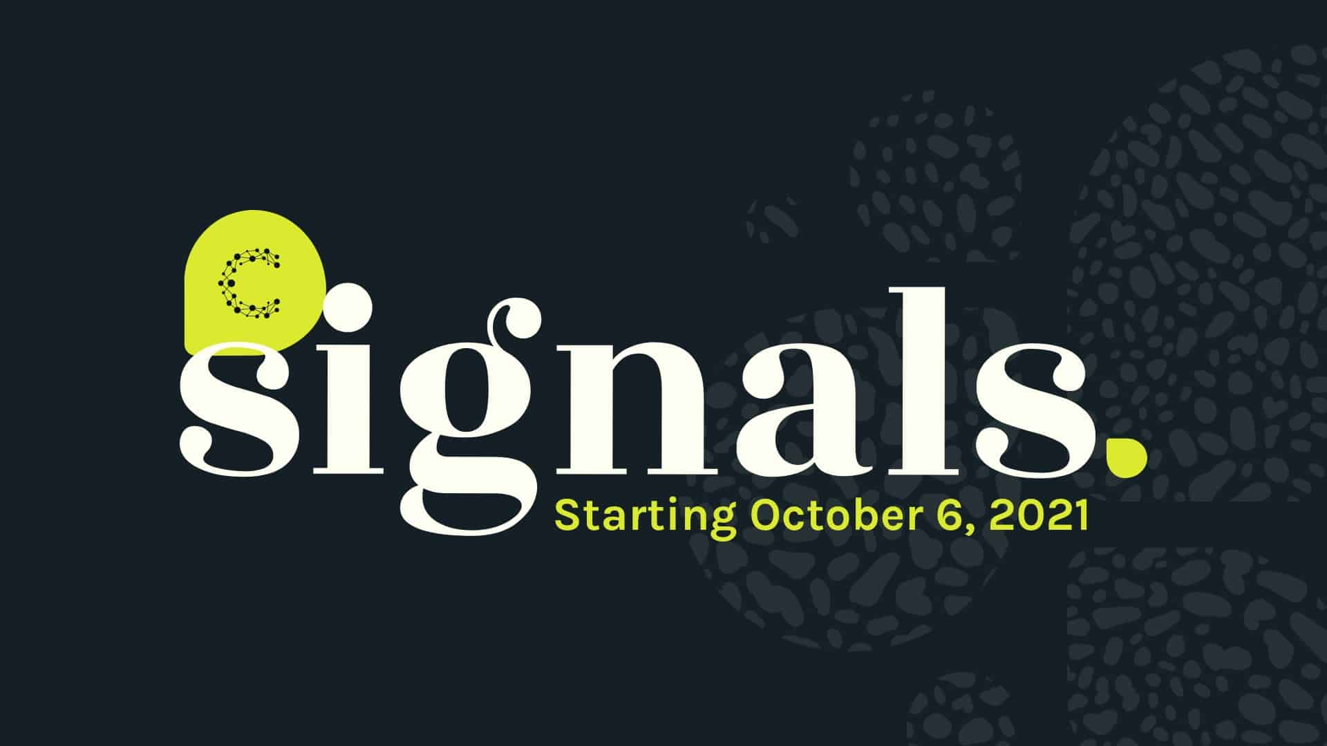 Signals21 – The award-winning virtual content series for marketers is back