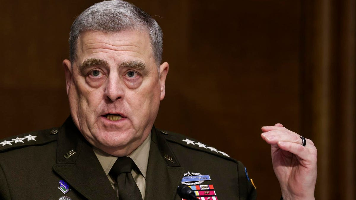 Gen. Milley Says Calls To China About Trump After Jan. 6 Were 'Routine'